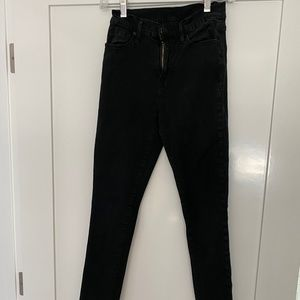BDG black high waisted jeans size 25